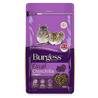 Burgess Excel Chinchilla voedsel Nuggets