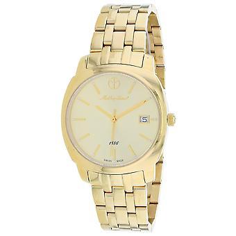 Mathey Tissot Women's Smart Gold Dial Watch - D6940MPDI