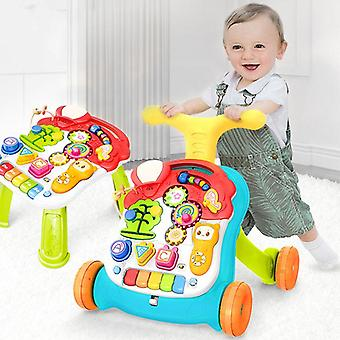Ladida Stroller and Playtable Musical Educational Walker
