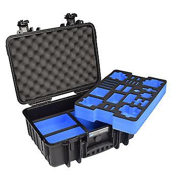 B&W GoPro Case Type 4000 para GoPro HERO 4, Negro Con inserto de espuma