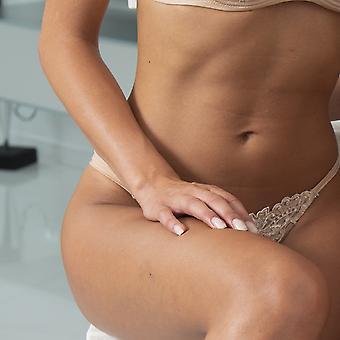 AMBRA fehérnemű csúszik Titán Tanga bőr 1435