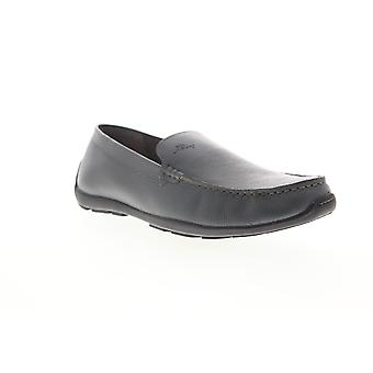 Tommy Bahama Orion  Mens Gray Leather Casual Slip On Loafers Shoes