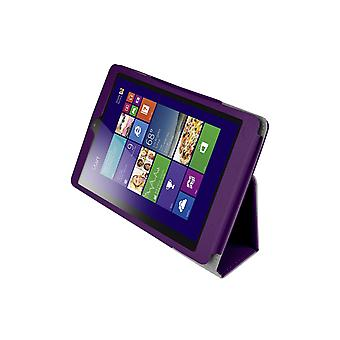 "Magnetic PU Leather Case Cover for Lenovo MiiX 3 7.85"" Tablet[Purple]"