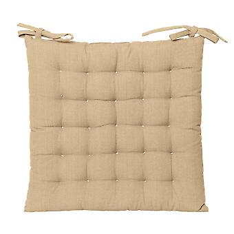 Outdoor Solid Chair Pad 40x40cm Taupe
