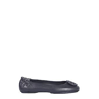 Tory Burch 49350006 Women's Black Leather Flats