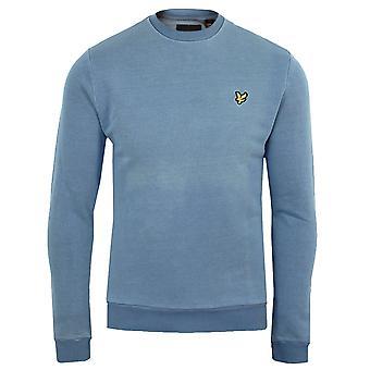 Lyle & scott men's light indigo sweatshirt