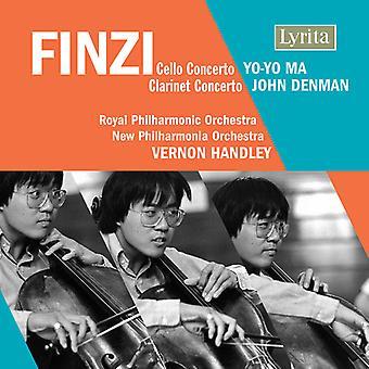 G. Finzi - Finzi: Cello Concerto; Clarinet Concerto [CD] USA import