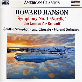 H. Hanson - Howard Hanson: Symphony No. 1 Nordic [CD] USA import