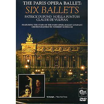 Paris Opera Ballet-Six Ballets [DVD] USA import