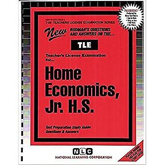 Teacher of Home Economics Junior High School