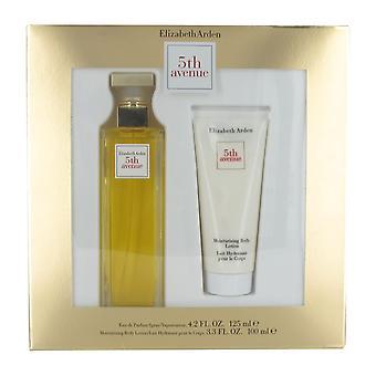 Elizabeth Arden 5th Avenue 125ml Eau de Parfum and 100ml Body Lotion Gift Set