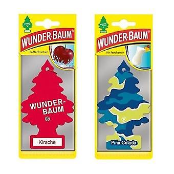 Wunder-Baum Perfumado (Cherry + Pina Colada) 2-Pack