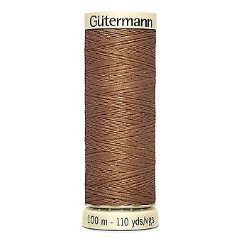 Gutermann Sew-all 100% Polyester Thread 100m Hand and Machine Colour Code  - 842