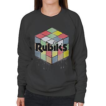 Rubik urban Cube Damen Sweatshirt