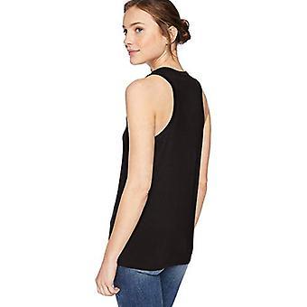 العلامة التجارية - طقوس اليومية المرأة & ق جيرسي Racerback خزان أعلى, أسود, كبيرة