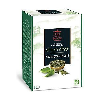 Chun Cha Bio Grand Cru Green Tea - Antioxidant 90 infusion bags
