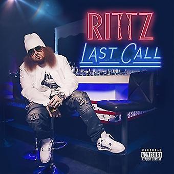 Rittz - Last Call [CD] USA import