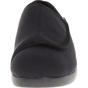 Propét Womens cush n foot Closed Toe Slip On Slippers