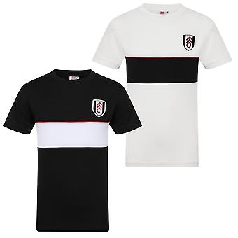 Fulham FC Official Football Gift Mens Poly Training Kit T-Shirt