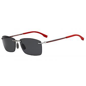Solglasögon Män 0939/S2P5/IR Herr silver/grå