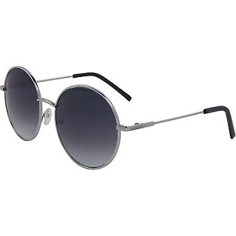 Sunglasses Unisex round Kat. 3 silver/grey (5102-B)