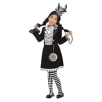 jenter mørk gal hatter fancy kjole kostyme