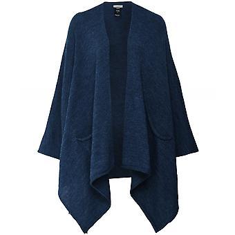 Crea Concept Wool Blend Poncho Cape