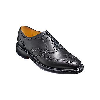 Barker Charles - Grain fin noir | Brogue en cuir fait main pour hommes | Barker Shoes