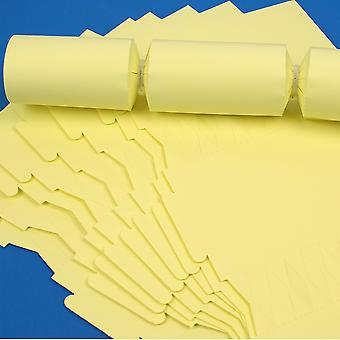12 Pale Pastel Yellow Make & Fill Your Own DIY Recyclable Cracker Boards