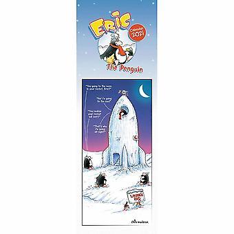Otter House 2021 Slim Calendar - Eric The Penguin
