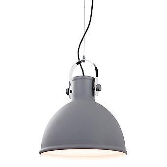 1 Licht Koepelplafond hangbeton, Chrome Trim, E27