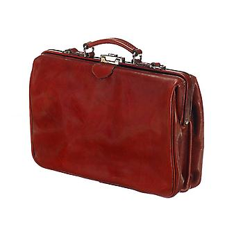 Leather Laptop Bag - The Classic - Chestnut