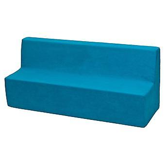 Kindersofa meubel schuim blauw