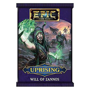 Epic Card Game Uprising - Will of Zannos Booster