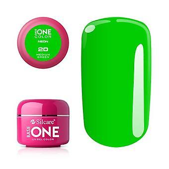 قاعدة واحدة - نيون - متوسط الأخضر 5G هلام الأشعة فوق البنفسجية