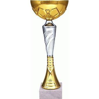 Coupe de métal or-argent 9044A