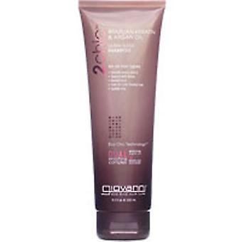 Giovanni Cosmetics 2chic Brazilian Keratin and Argan Oil Ultra-Sleek Shampoo, 24 OZ