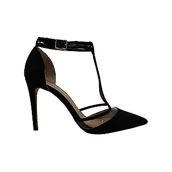 INC International Concepts Womens Kaeley Fabric Pointed Toe Ankle Strap D-ors...