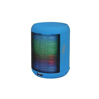 NBY Small Sound activate LED Light BluetoothSpeaker Music&Dancing Fountain, Blue