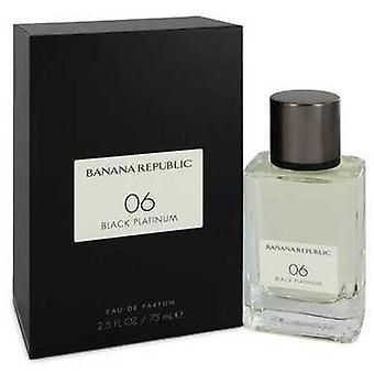 Banana Republic 06 Black Platinum Par Banana Republic Eau De Parfum Spray (unisexe) 2,5 Oz (femmes) V728-550814