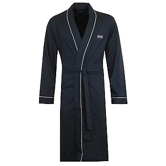 Boss Bodywear Navy Kimono Dressing Dress