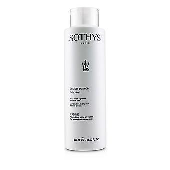 Loção de pureza para combinação com pele oleosa, com extrato de íris (tamanho do salão) 237605 500ml/16.9oz