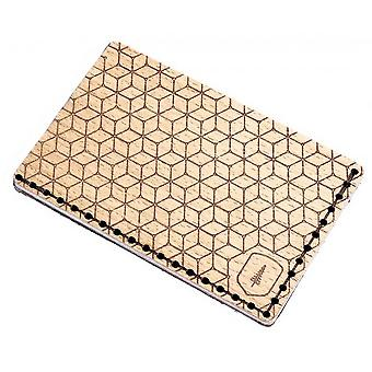 BeWooden Virie Nota Card Holder - Marrón claro/ Marrón