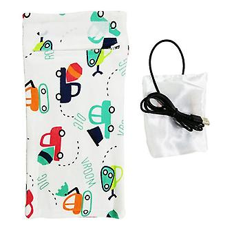 Travel Stroller Bag Usb Milk Water Warmer Insulated Bag, Baby Nursing Bottle