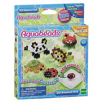 Aquabeads ab79218 set de animale 3d