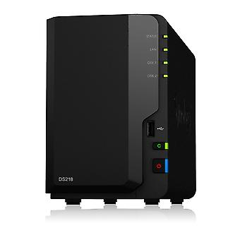Synology ds218 2 bay nas behuizing