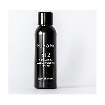S12 Enzymatic Oil SPF20 - Antioxidant and Elasticizing Enzymatic Oil 100 ml