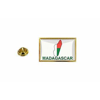 pine pine badge pine pin-apos;s land vlag kaart RM Madagascar