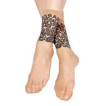 Sheer Beige Socks