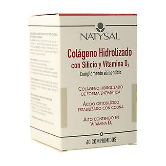 Collagen Hydrolyzed with Silicon and Vitamin D3 60 tablets